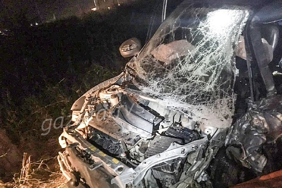 Удар «лоб влоб»: вДТП с фургоном умер шофёр «Нивы»
