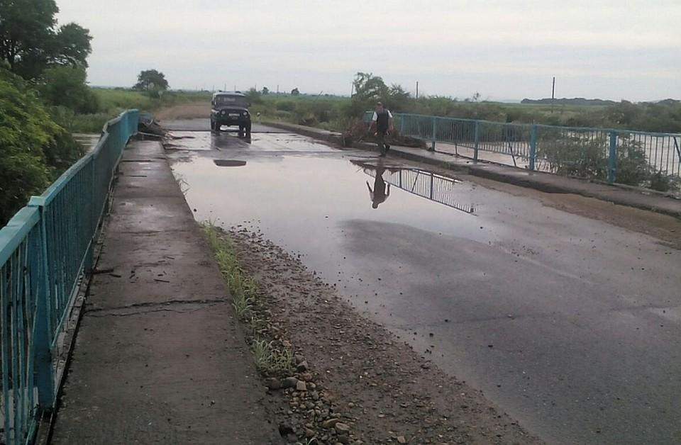 Из-за паводка вПриморье обесточены три села