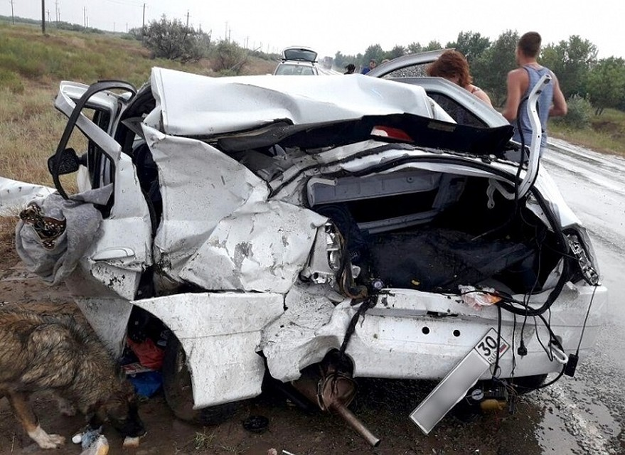 4 человека пострадало вДТП натрассе— Лоб влоб