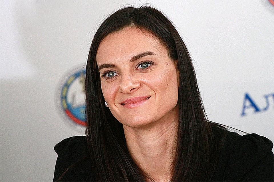Канделаки проинформировала, что Елена Исинбаева будет мамой во 2-ой раз