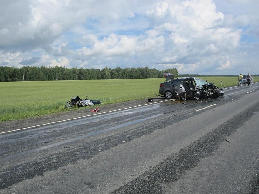 Натрассе Тюмень— Омск автомобиль сбил 9-летнего ребенка