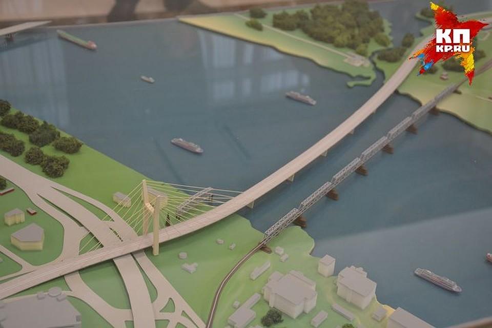 ВНовосибирске презентовали проект четвертого моста через реку Обь