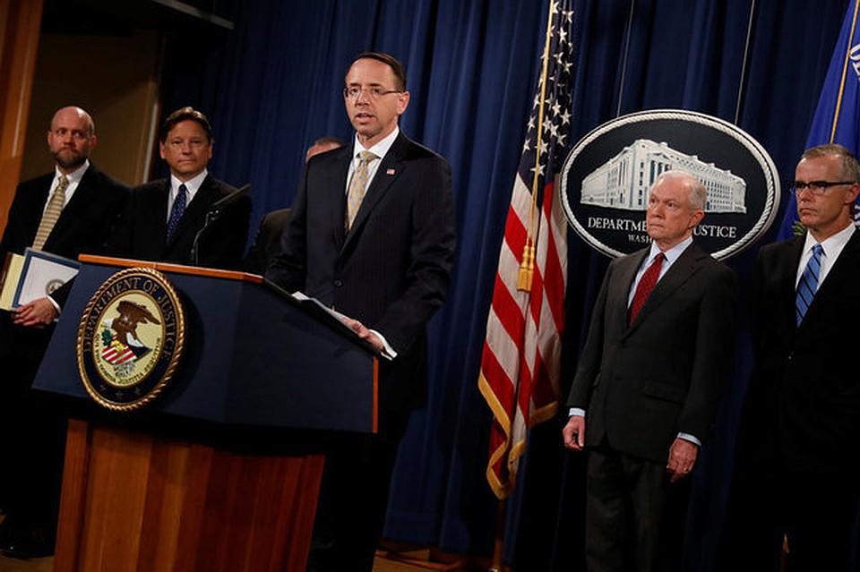 Минюст США пообещал не подвергать наказанию  корреспондентов  запубликацию «утечек»