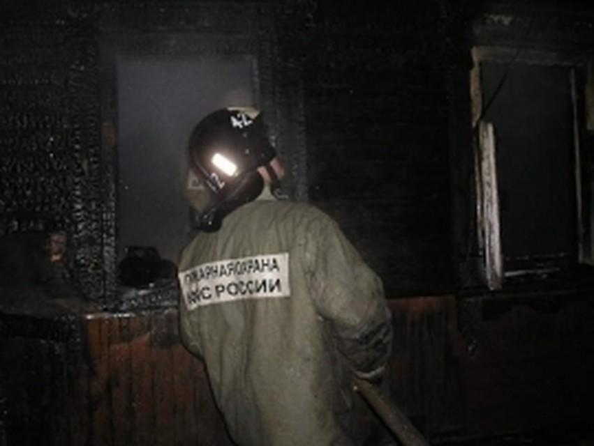 Наулице Кутузова вТуле сгорели торговые палатки имотоциклы