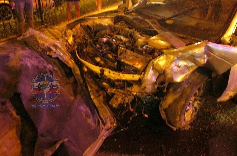Серьёзная авария спострадавшими произошла вЗаельцовском районе