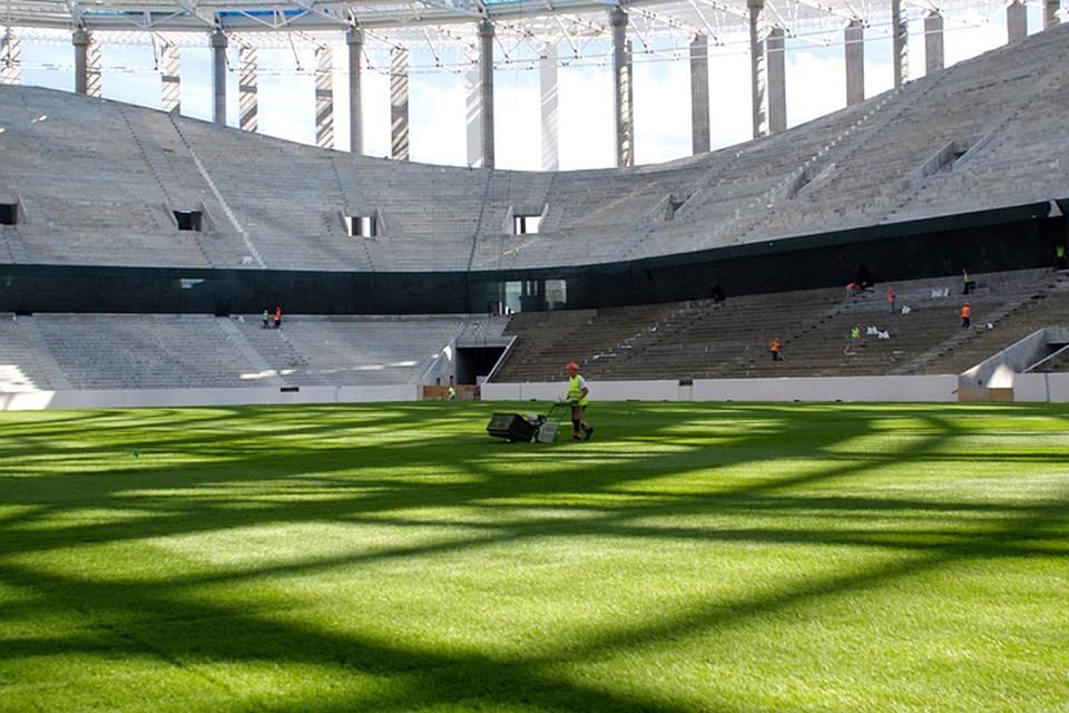 Порядка 2-х тыс. зрительских кресел установлено настадионе «Нижний Новгород»