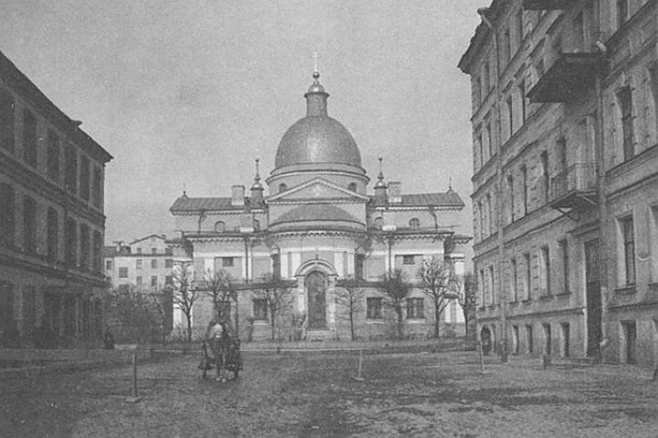 Вцентре Петербурга воссоздадут храм Рождества Христова наПесках