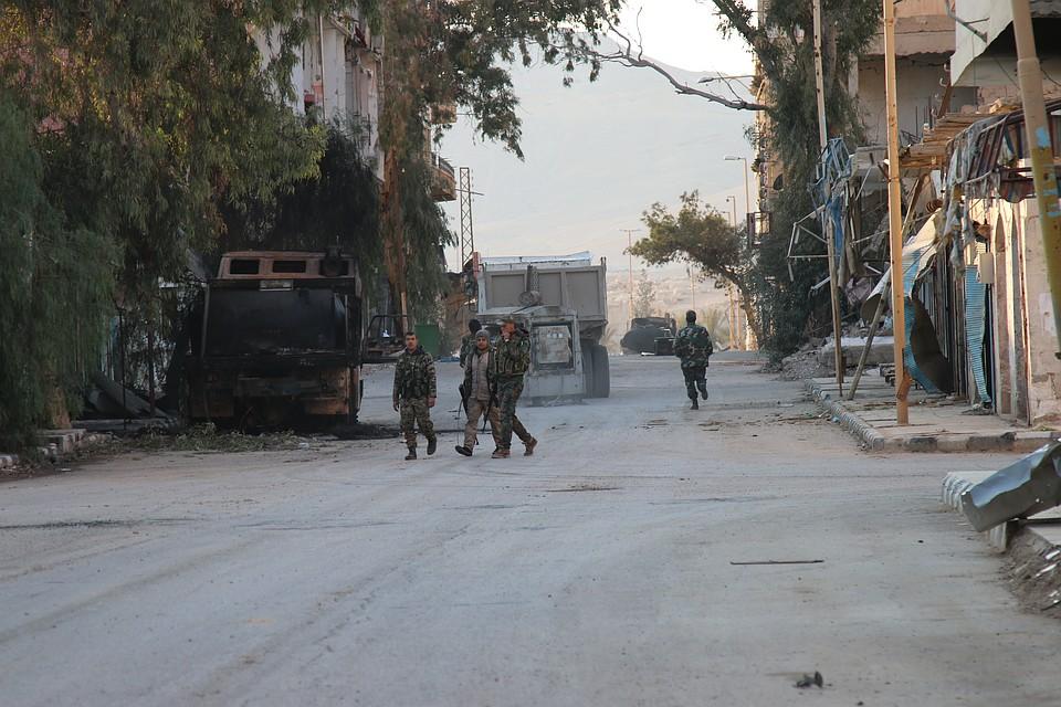 Минобороны Российской Федерации сообщило о25-тысячной группировке исламистов вСирии
