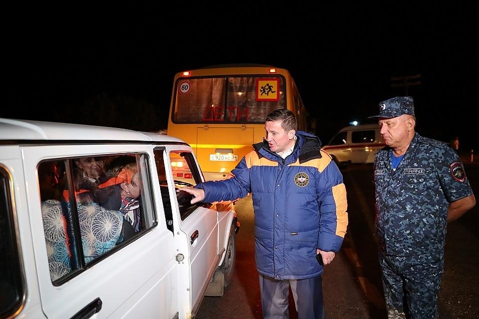 Часть жителей села Оленье проведут ночь в Дубовке