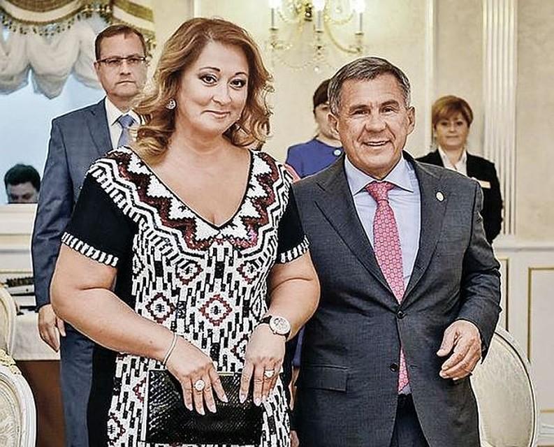 Forbes назвал супругу главы Татарстана самой состоятельной среди жен чиновников