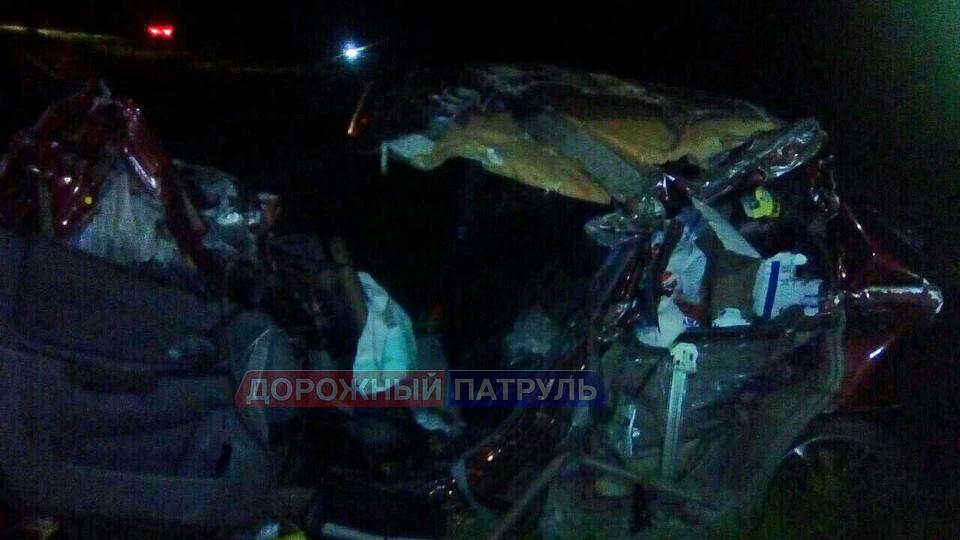 ВДТП с«КамАЗом» вАрхангельском районе пострадал ребенок