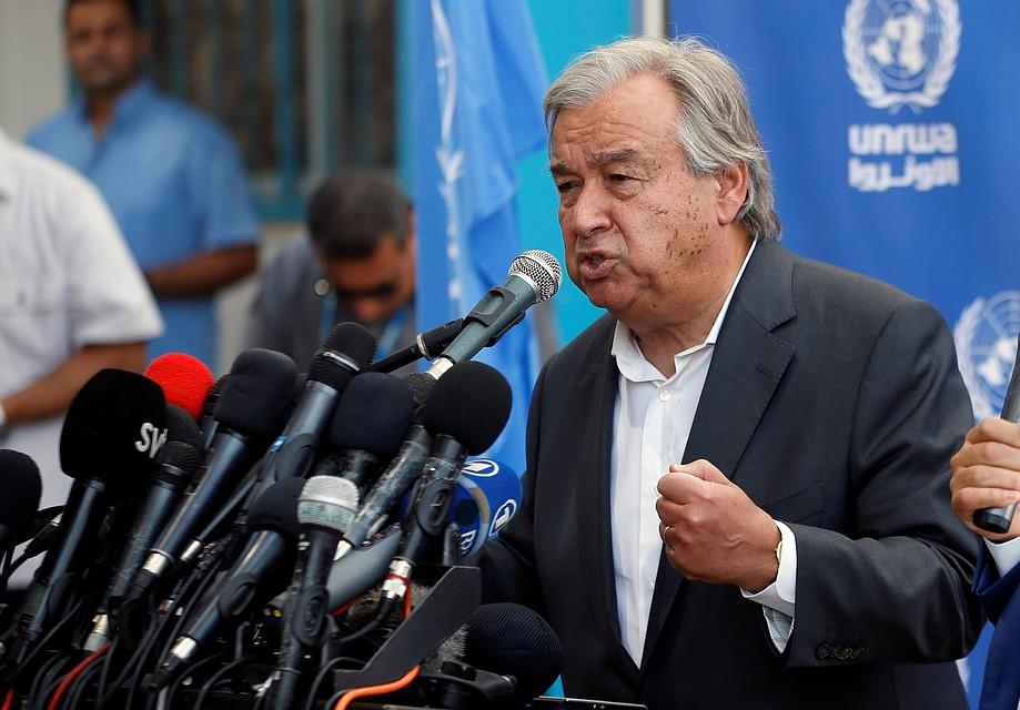 Генеральный секретарь ООН высказался поповоду вероятностного ввода миротворцев вДонбасс