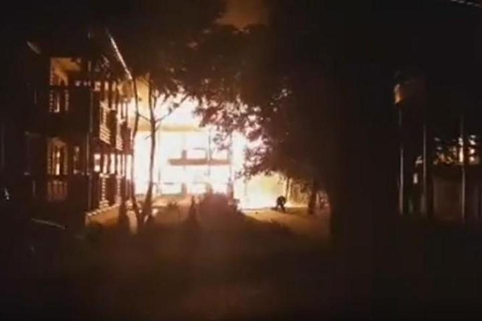 Несколько детей пропали вовремя пожара водесском лагере