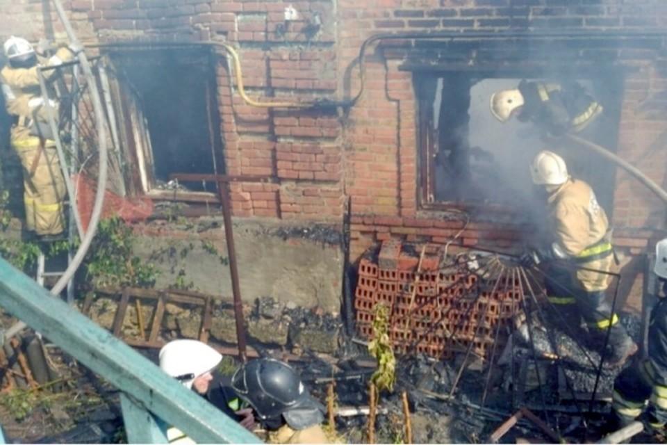Возбуждено уголовное дело пофакту погибели людей впожаре вростовском отеле