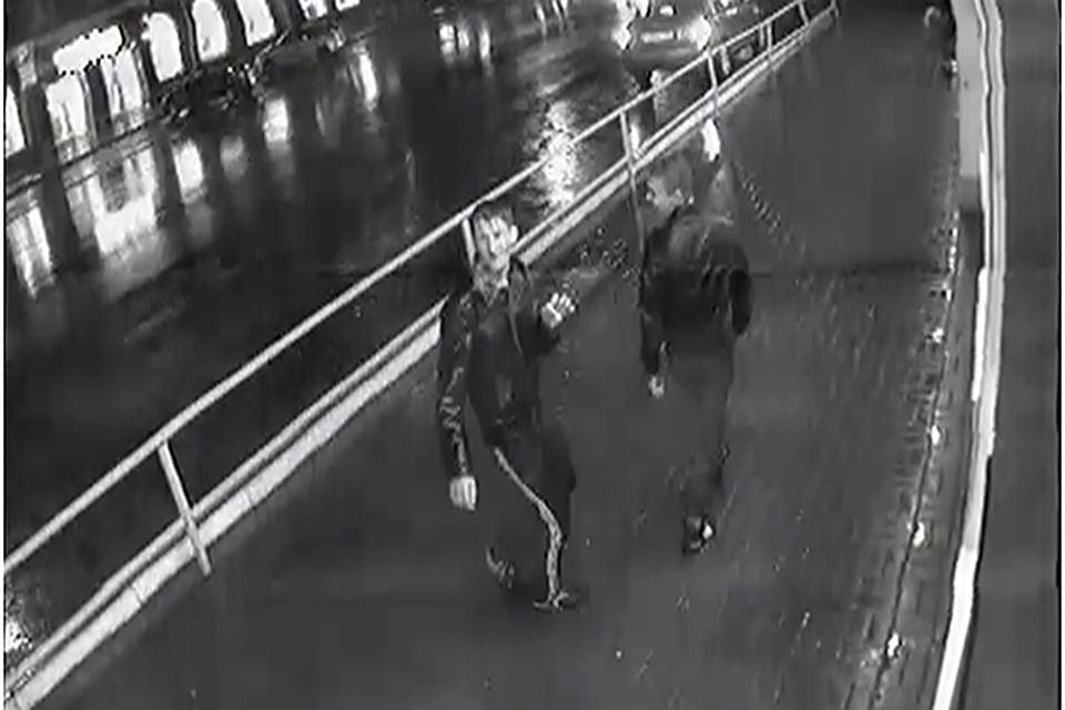 Камеры видеонаблюдения засняли ограбление учительницы вцентре Кирова