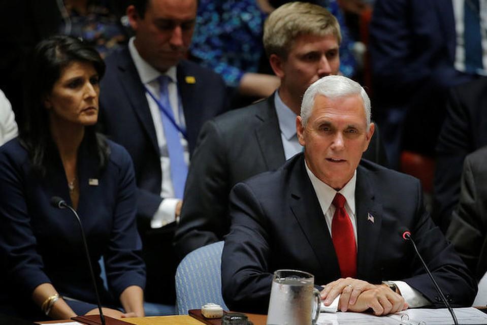 Пенс раскритиковал состав СПЧ ООН из-за Кубы иВенесуэлы