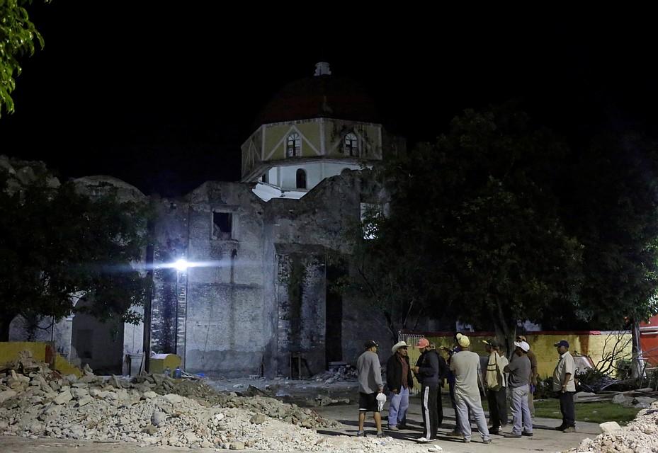 При землетрясении вМексике погибли практически 300 человек