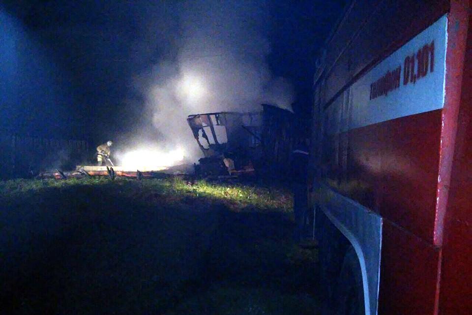 ВТверской области напожаре погибли супруги— проводится доследственная проверка