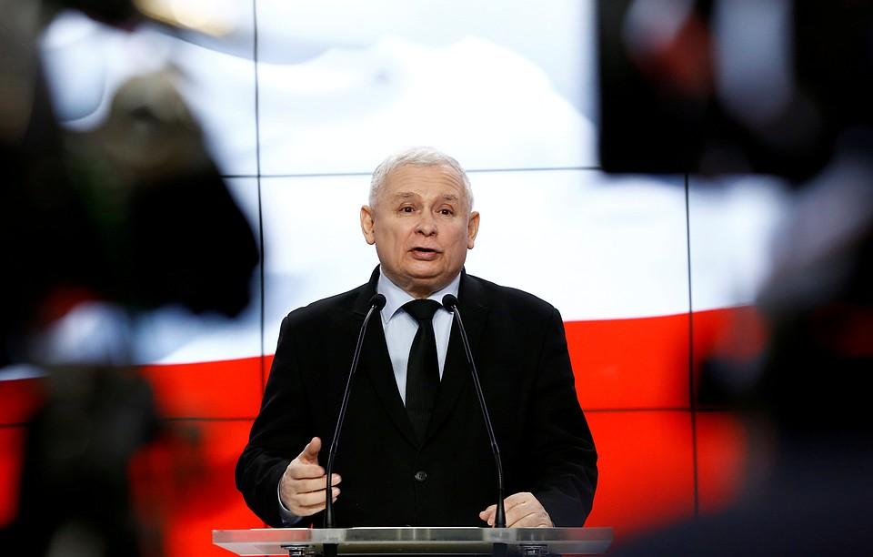 Ярослав Качиньский снова приподнимает вопрос орепарациях сГермании