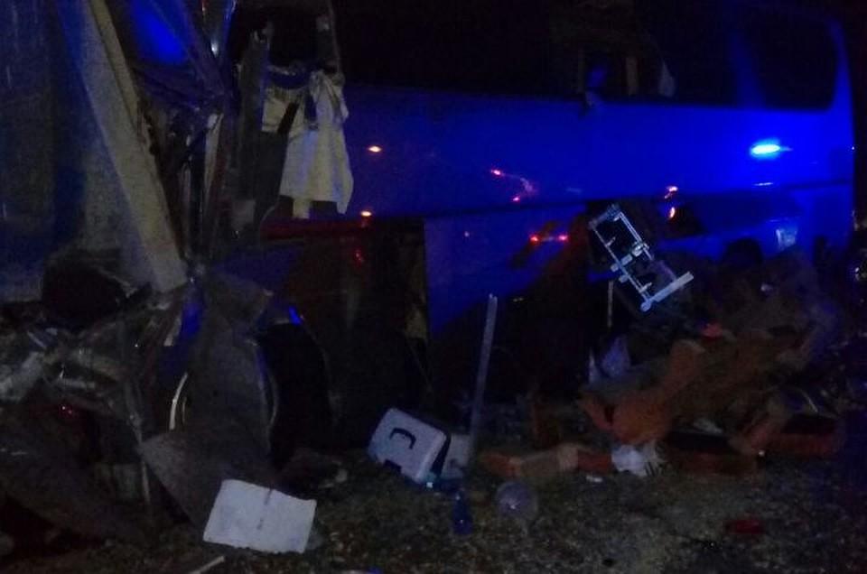 10 пострадавших в трагедии савтобусом наКубани— вкрайне тяжелом состоянии