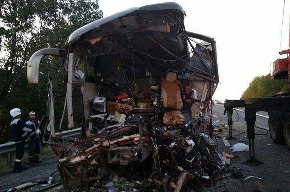 Мед. работники поведали осостоянии пострадавших вДТП савтобусом наКубани