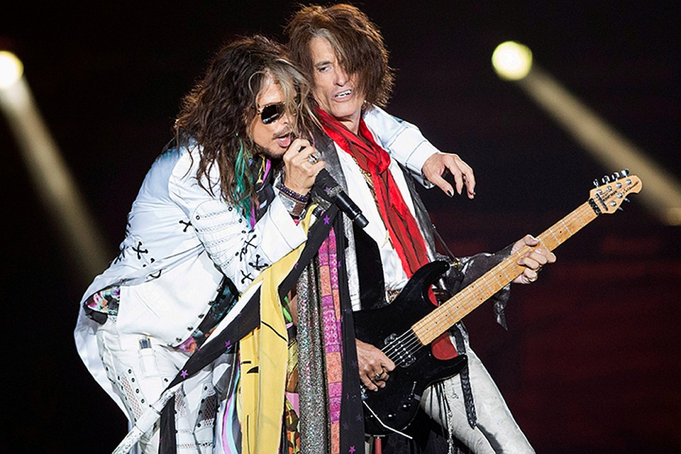 Aerosmith отменили концерты в Латинской Америке