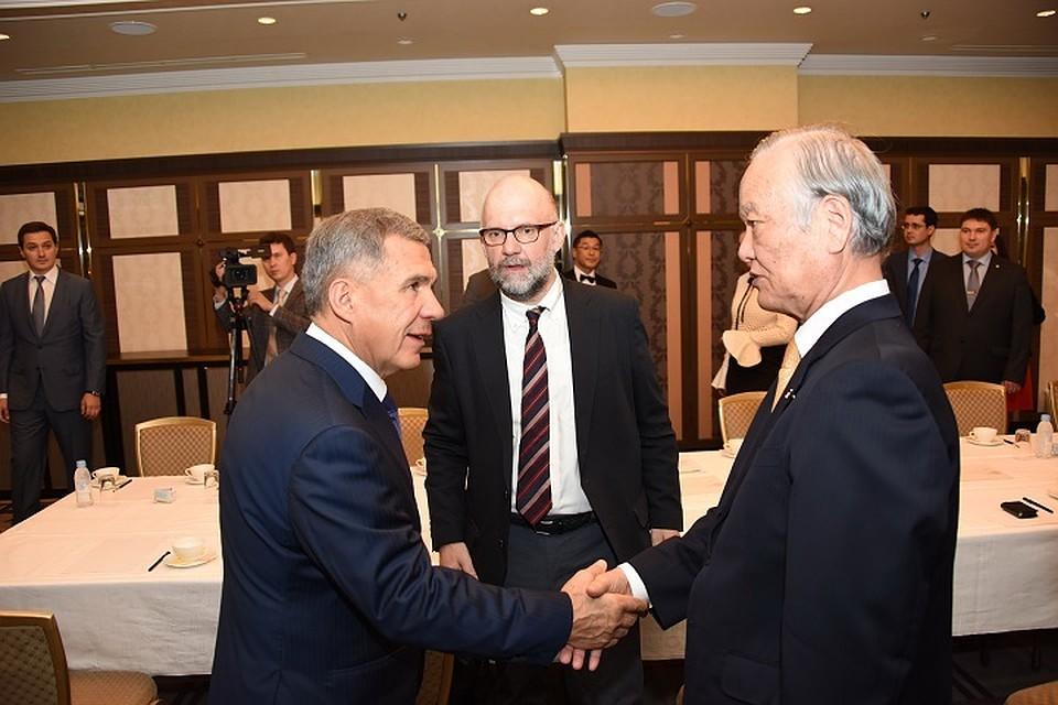 Татарстан хочет сотрудничать сяпонской медкомпанией «Токусикай»