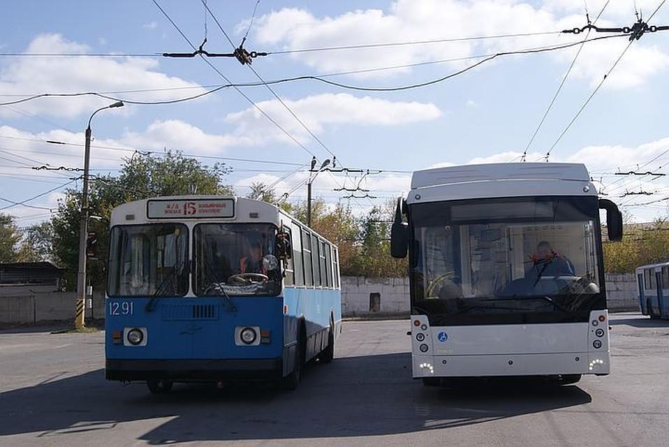 Новый троллейбус установил рекорд вВолгограде