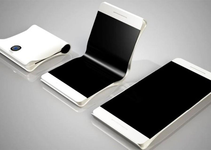 Как может выглядеть первый аппарат Samsung с гнущимся экраном