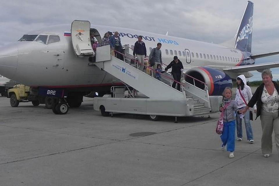 Три самолета несмогли сесть сегодня вМурманске
