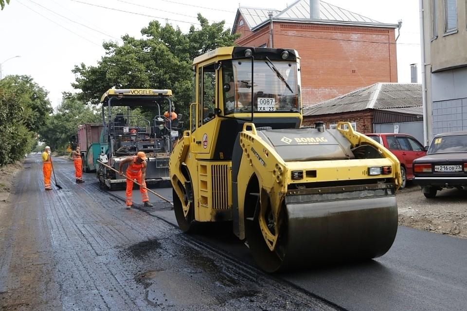 ВКраснодаре к20октября закончат ремонт на46 дорогах