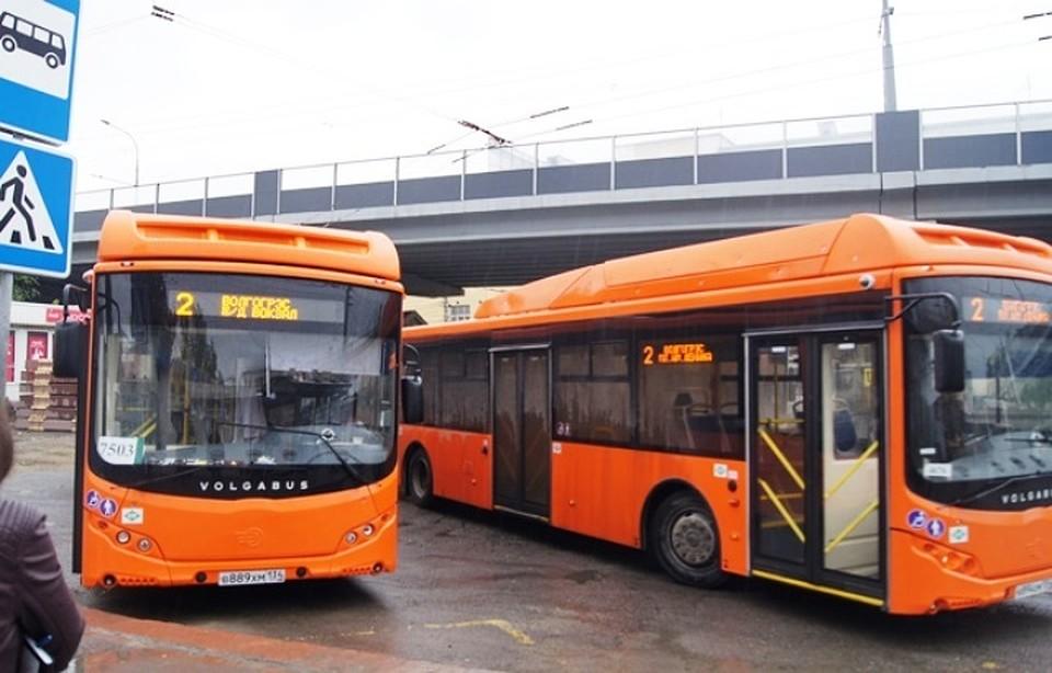 Автобус №2 будет ездить доКрасноармейского района Волгограда