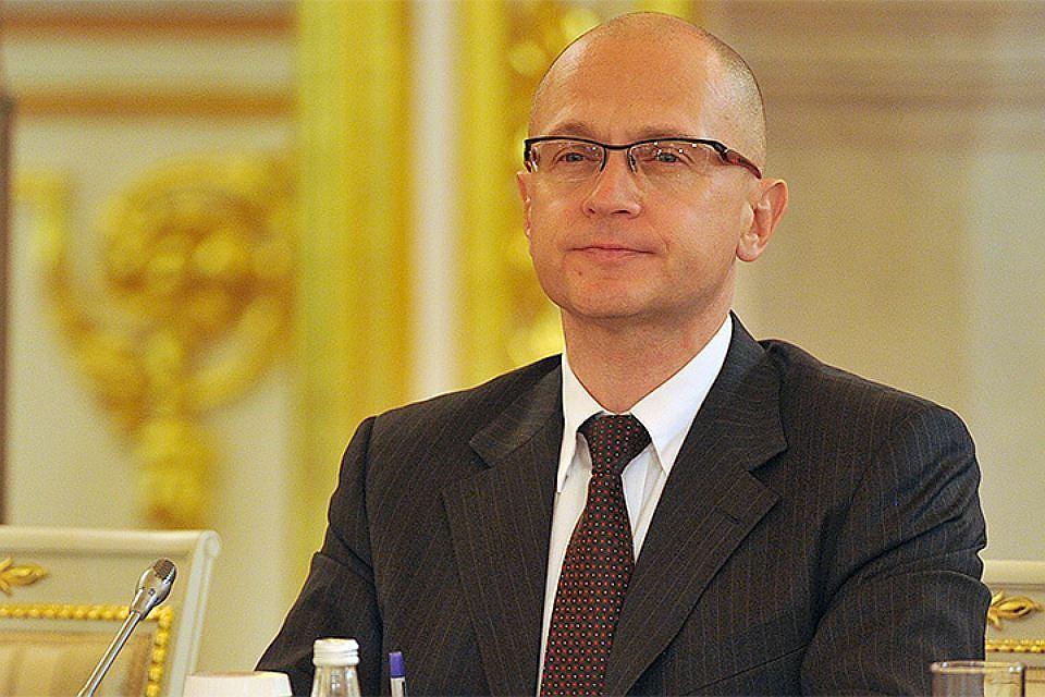 Кириенко поведал опроектах платформы «Россия— страна возможностей»