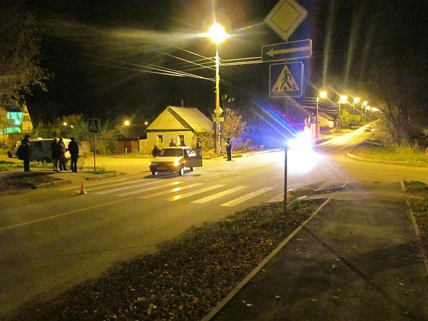 ВМценске на«зебре» была сбита женщина-пешеход