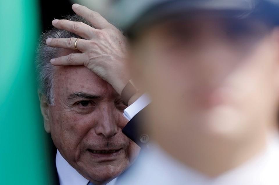 Президент Бразилии госпитализирован из-за ухудшения самочувствия