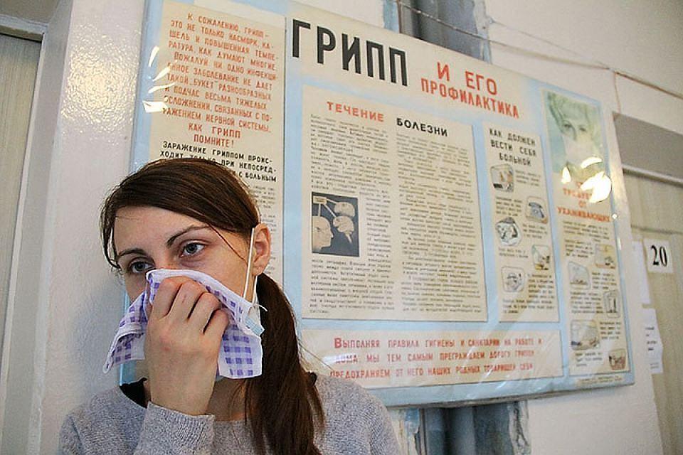 ВКиевской области зафиксирован самый высокий уровень заболеваемости гриппом иОРВИ