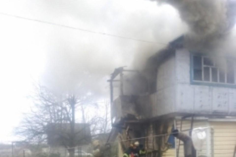 Вбрянской деревне вовремя пожара умер 38-летний мужчина