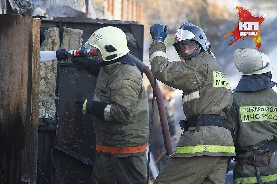 Вдетской поликлинике вКрасноярске произошёл пожар