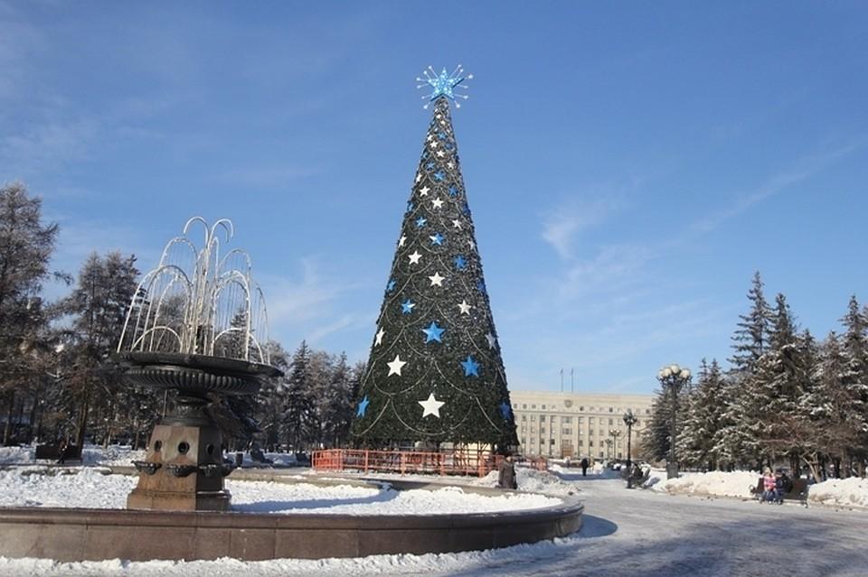 Колесо обозрения откроют вИркутске 31декабря