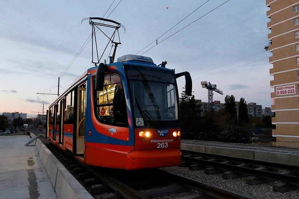 ВКраснодаре с7ноября запустят трамваи поСадовому мосту