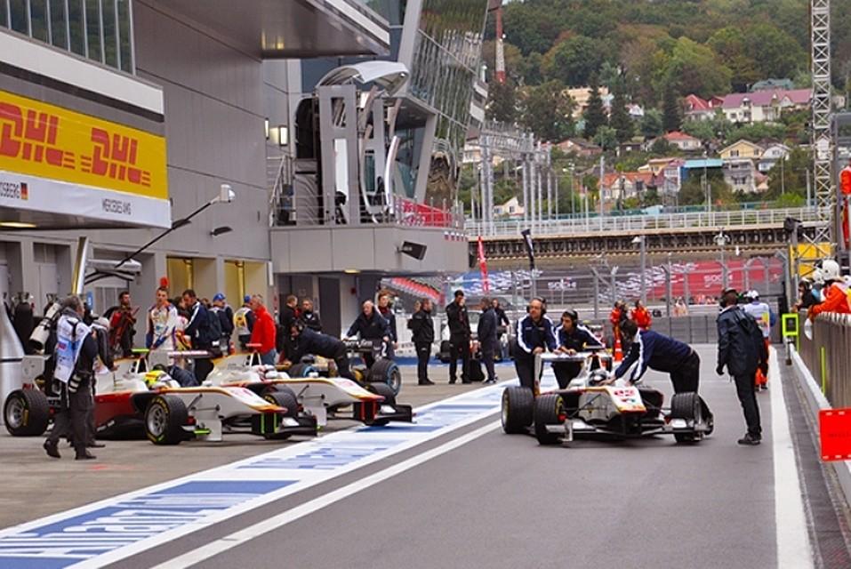 ВСочи осенью 2018г пройдет этап «Формулы 2»