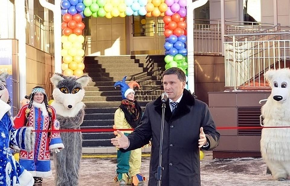 ВСалехарде открылся инновационный детский парк