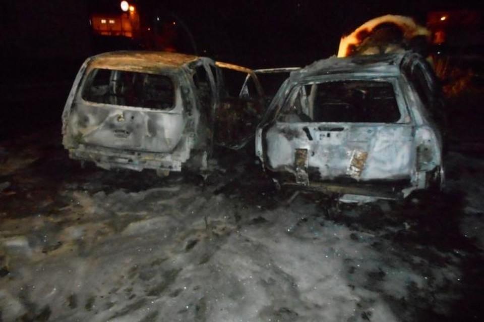 Свердловские полицейские задержали подозреваемого всерии поджогов машин