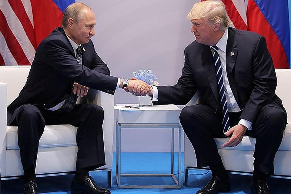 МИД Российской Федерации назвал одну из основных тем встречи В. Путина иТрампа
