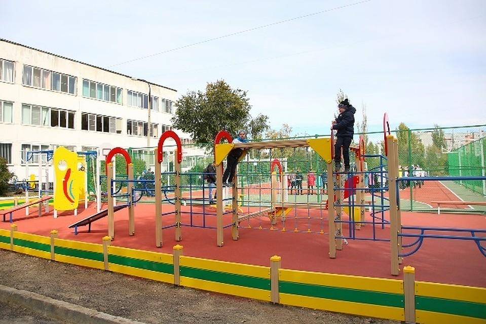 Вволгоградских дворах установят новые спортплощадки