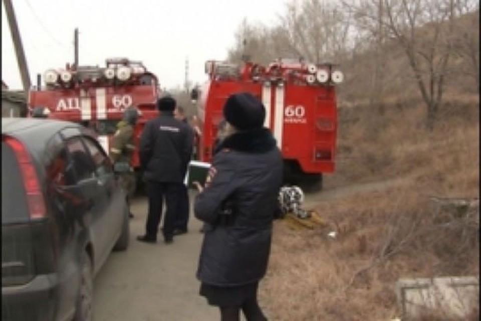 Мужчина идвое детей погибли напожаре всадоводстве Ангарска