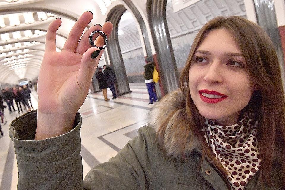 Пассажиры Московского метрополитена приобрели неменее 21 тыс.сувениров сфункцией транспортной карты