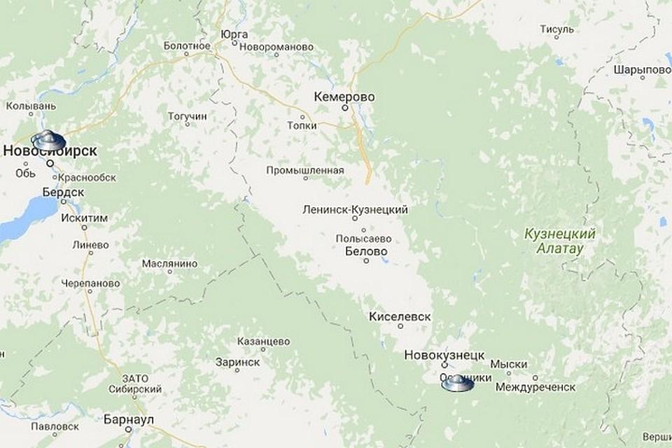 Очевидец отметил три НЛО над Тольятти заодну ночь