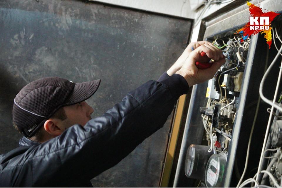 Стала известна причина отключения электричества вОмске