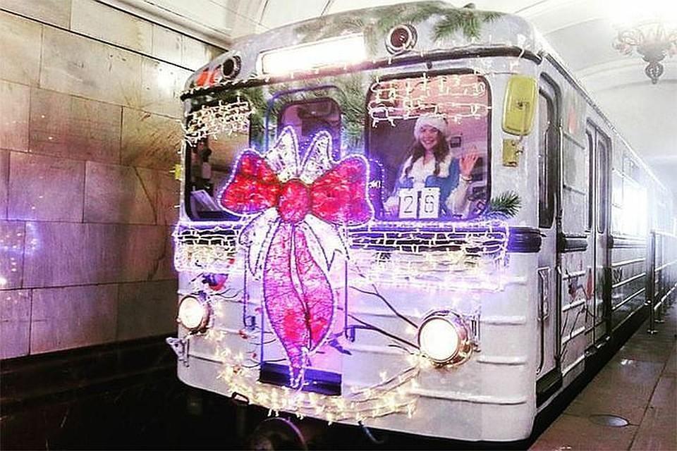 Столичное метро будет работать напротяжении всей новогодней ночи